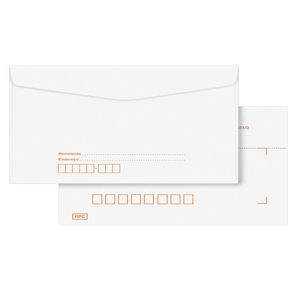 Envelope Ofício RPC Branco COF022 114x229mm Scrity 1000un