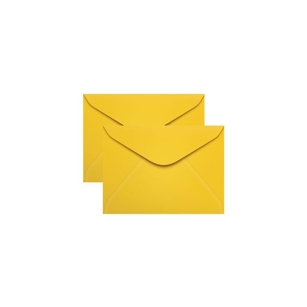 Envelope para Convite Amarelo Rio de Janeiro 72x108mm Scrity 100un