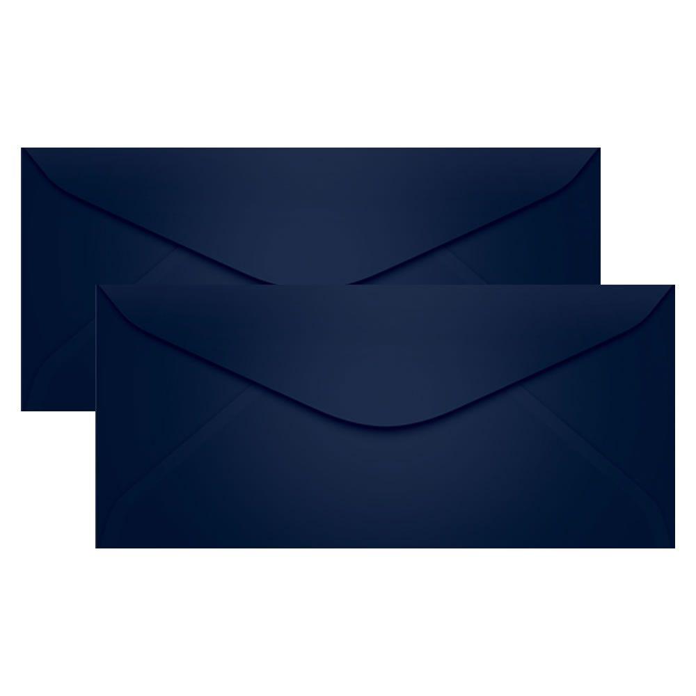 Envelope para Convite Azul Marinho 114x229mm Scrity 100un