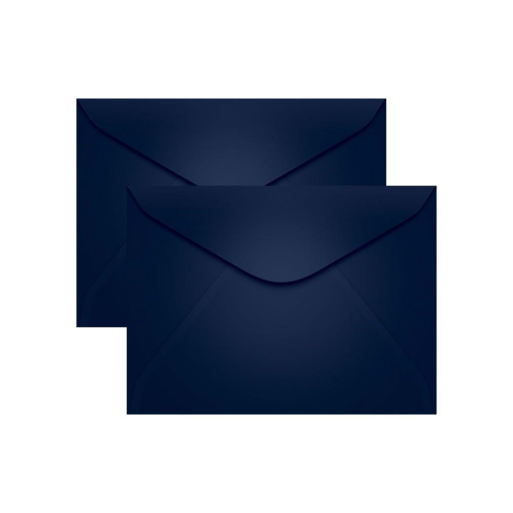 Envelope para Convite Azul Marinho P. Seguro 114x162mm Scrity 100un