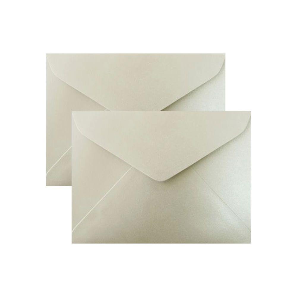 Envelope para Convite Branco Brilho 114x162mm Scrity 100un