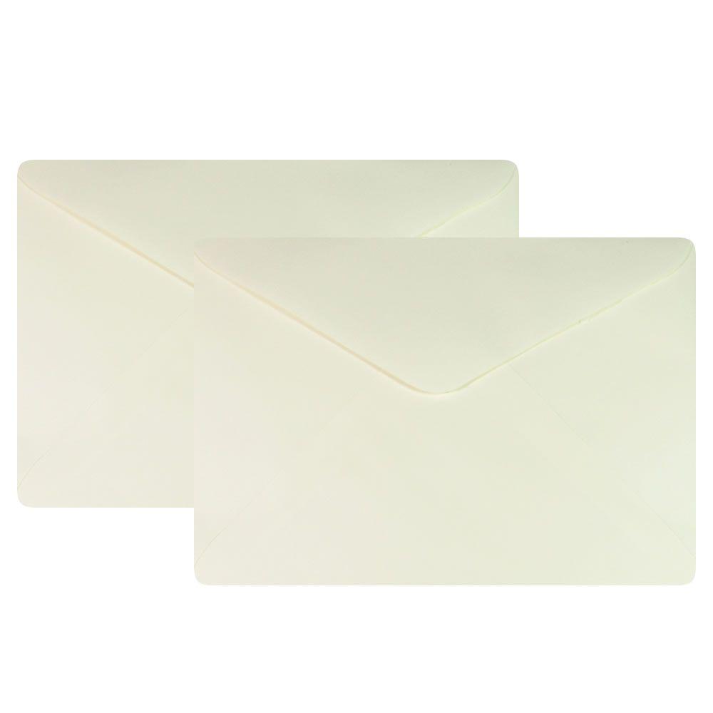 Envelope para Convite Creme Berilo 114x162mm Plastpark 50un