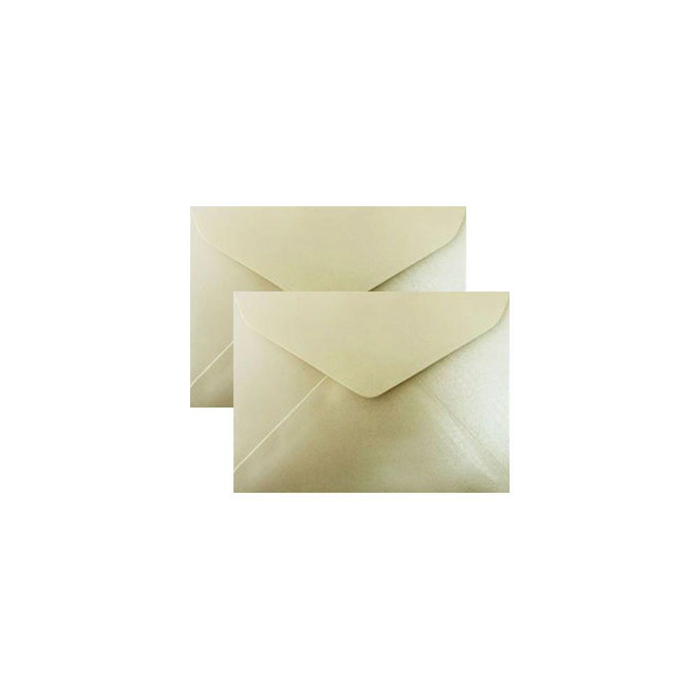 Envelope para Convite Creme Brilhante 72x108mm Scrity 100un