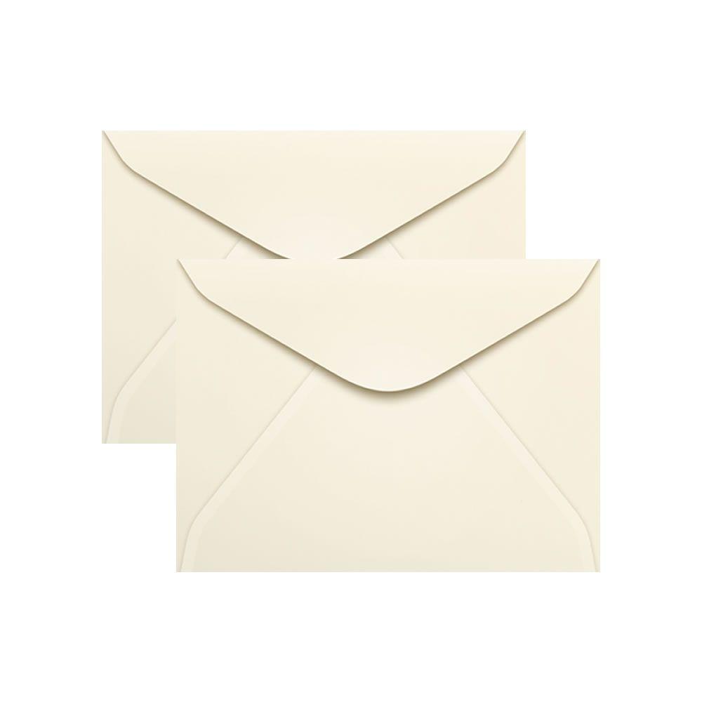 Envelope para Convite Creme Marfim 114x162mm Scrity 100un