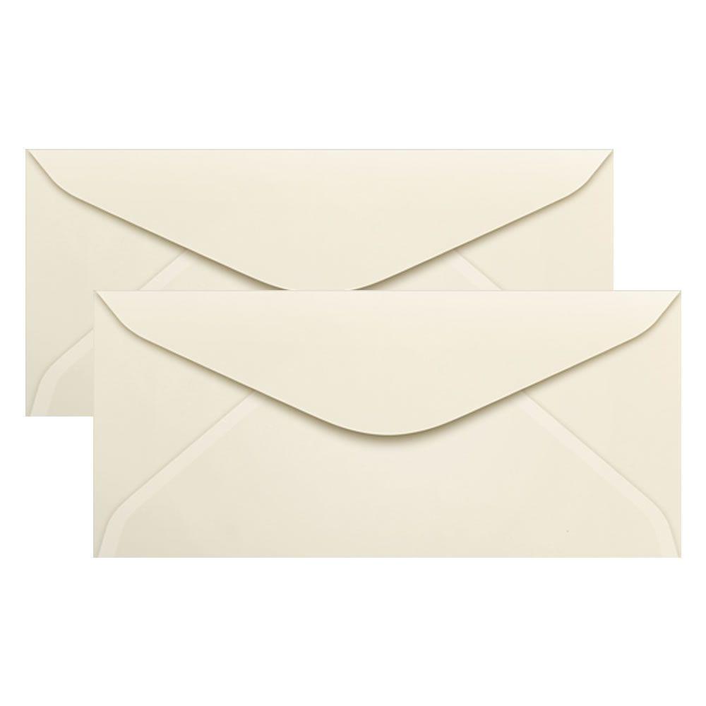 Envelope para Convite Creme marfim 114x229mm Scrity 100un