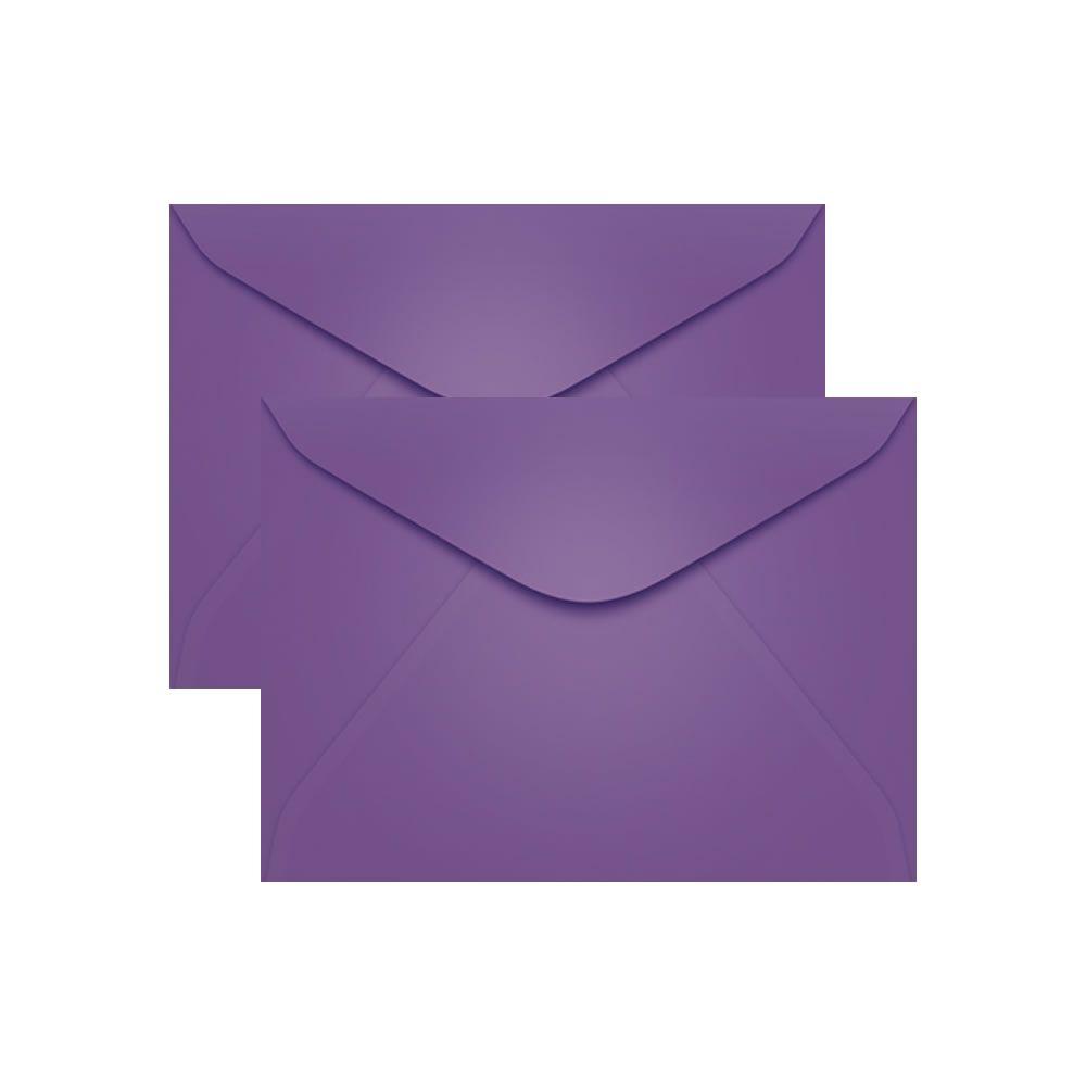 Envelope para Convite Lilás Amsterdan 114x162mm Scrity 100un