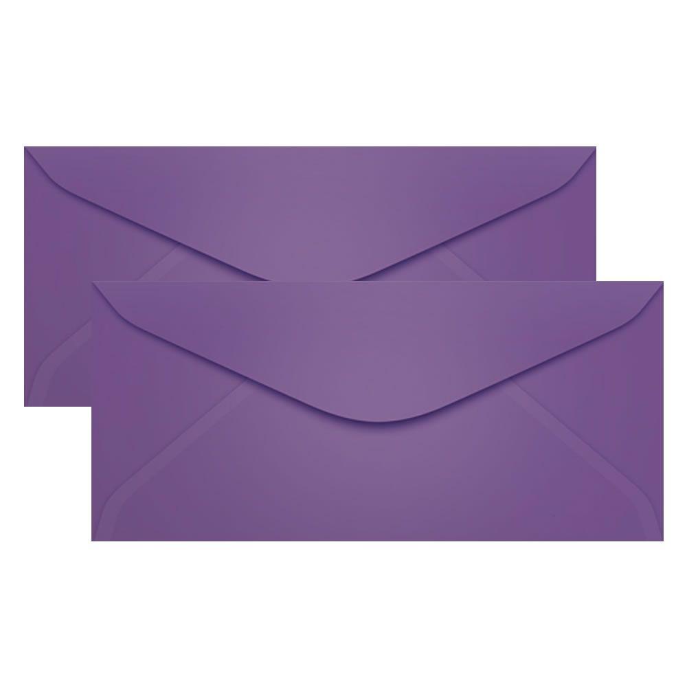 Envelope para Convite Lilás Amsterdan 114x229mm Scrity 100un