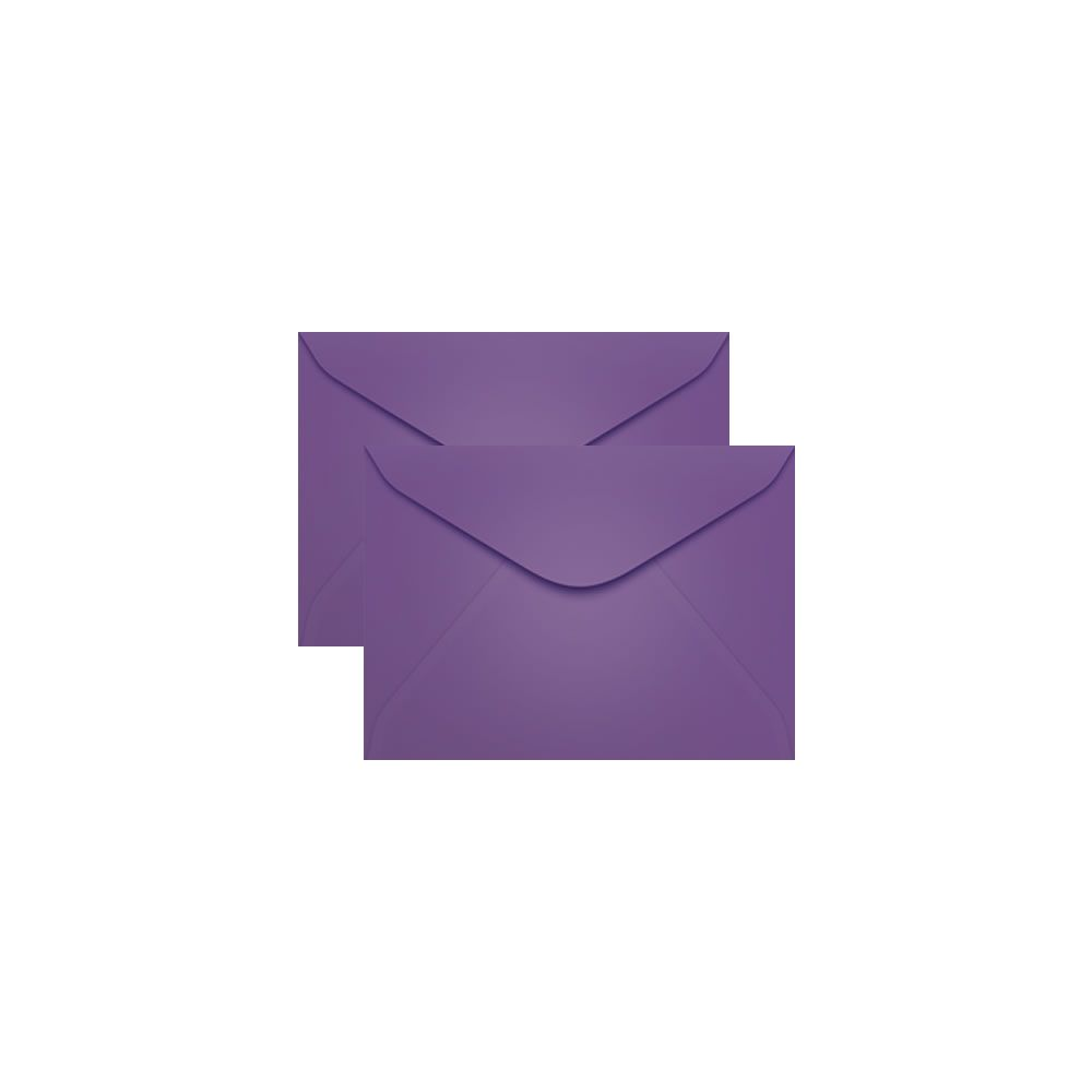 Envelope para Convite Lilás Amsterdan 72x108mm Scrity 100un