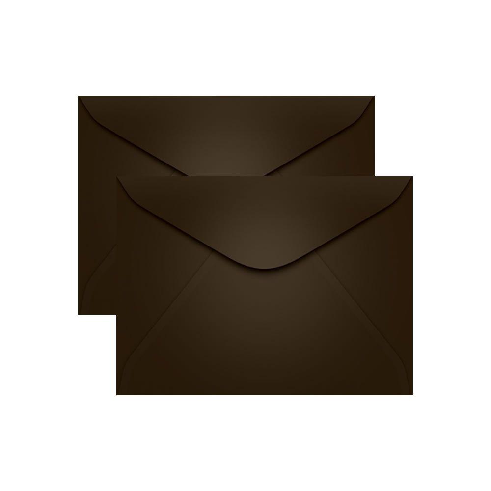 Envelope para Convite Marrom Marrocos 114x162mm Scrity 100un