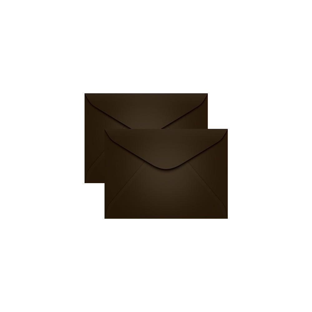 Envelope para Convite Marrom Marrocos 72x108mm Scrity 100un