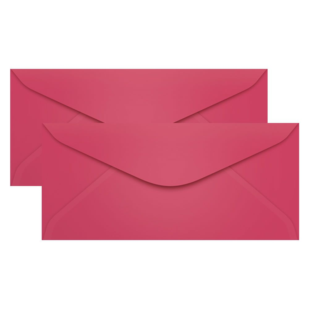 Envelope para Convite Rosa Cancun 114x229mm Scrity 100un