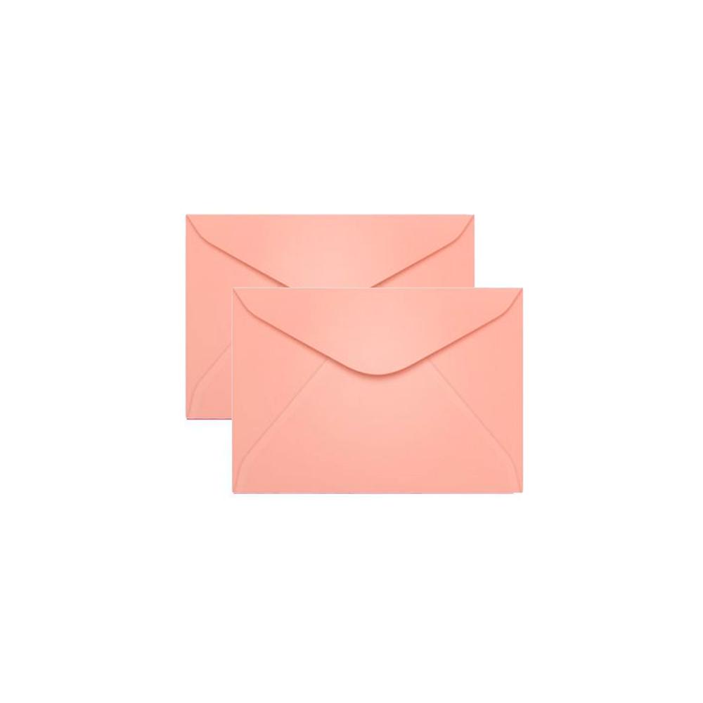Envelope para Convite Rosa Claro Fidji 72x108mm Scrity 100un