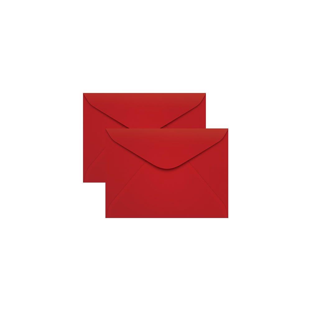 Envelope para Convite Vermelho Tóquio 72x108mm Scrity 100un
