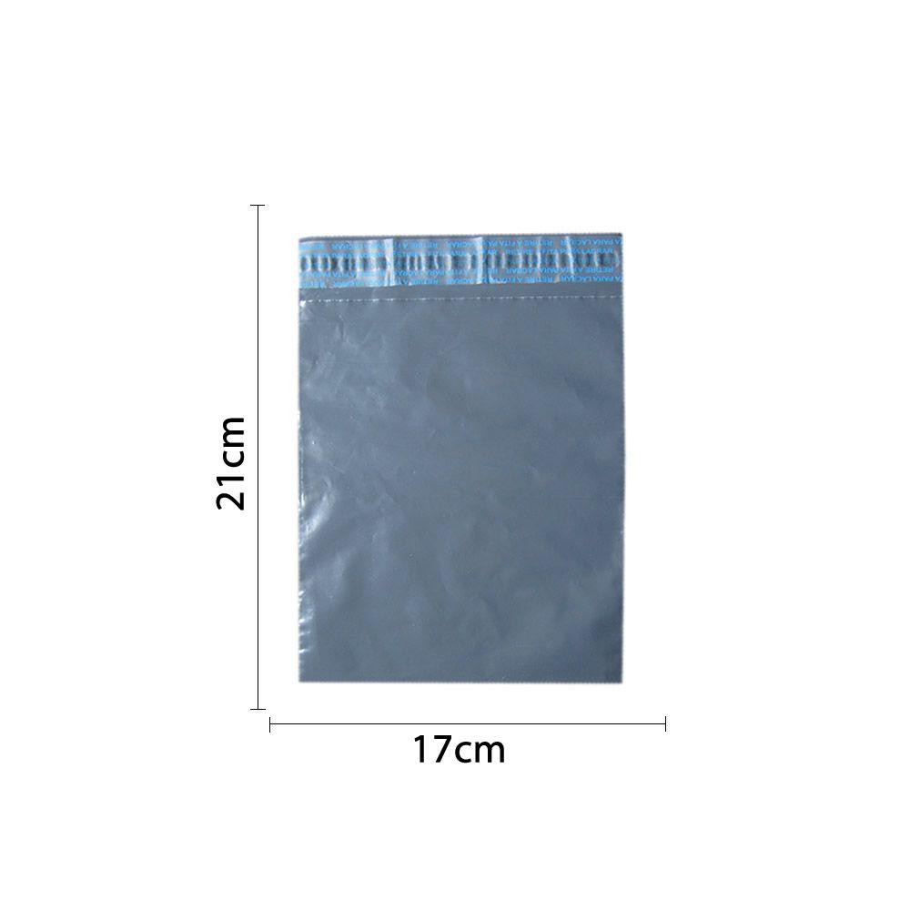 Envelope plástico de segurança 21X17cm lacre inviolável 100un