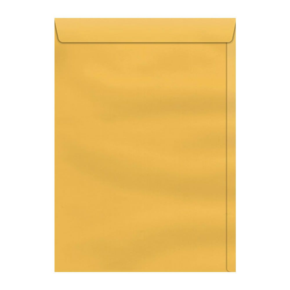Envelope Saco Amarelo SKO132 A4 229x324mm Scrity 10un