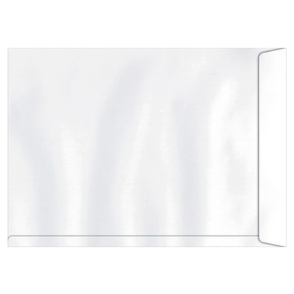 Envelope Saco Branco SOF347 A3 370x470mm Scrity 100un