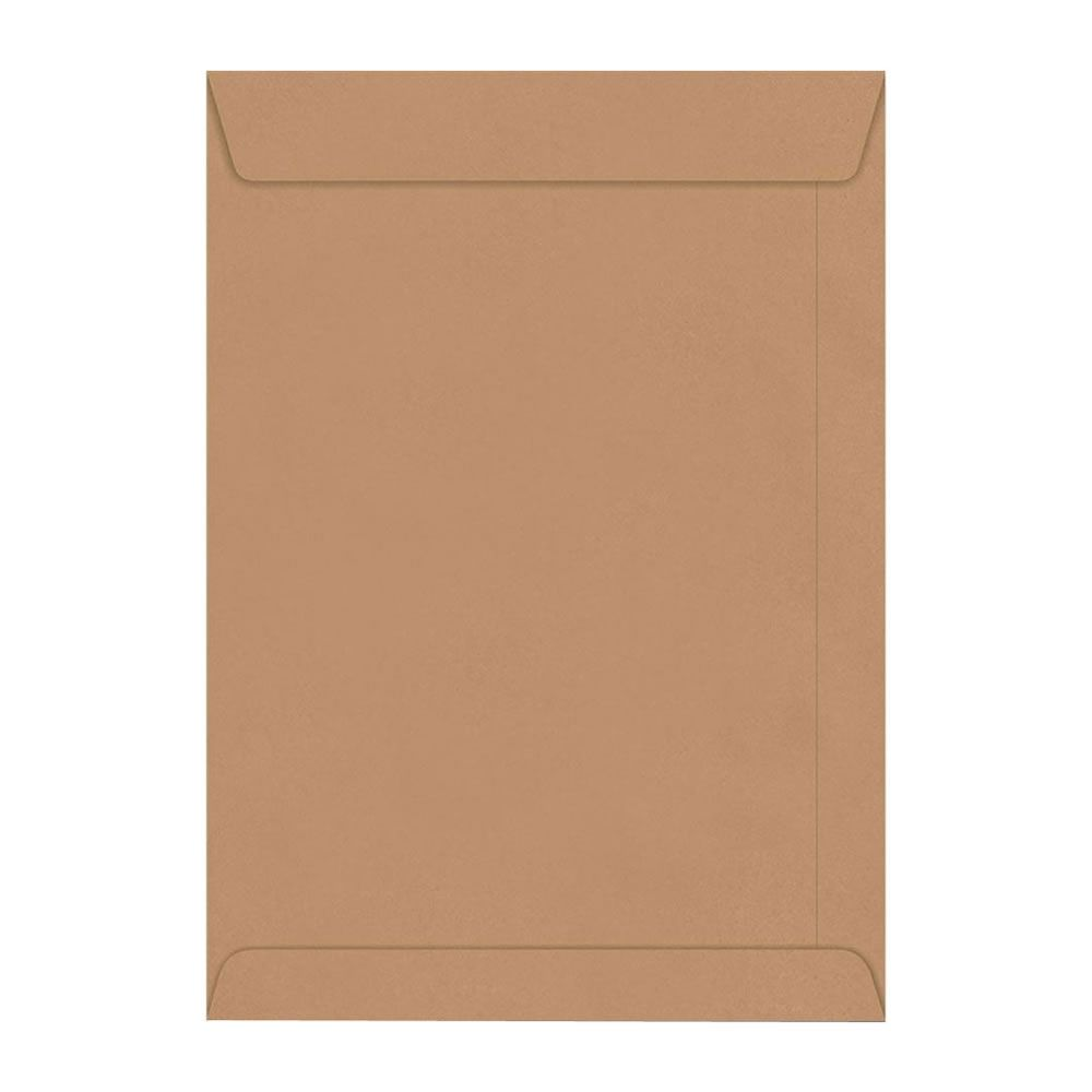 Envelope Saco Kraft Pardo SKN132 A4 229x324mm Scrity 10un