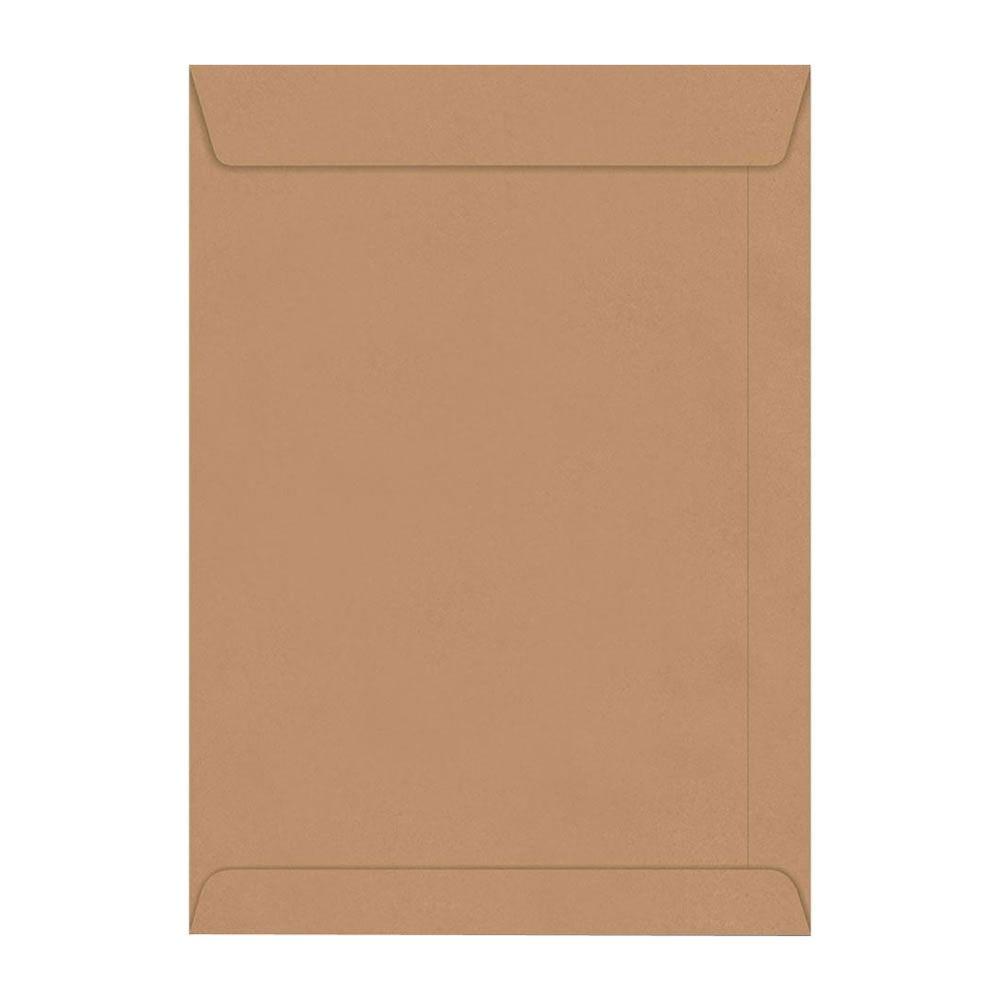 Envelope Saco Kraft Pardo SKN332 A4 229x324mm Scrity 100un