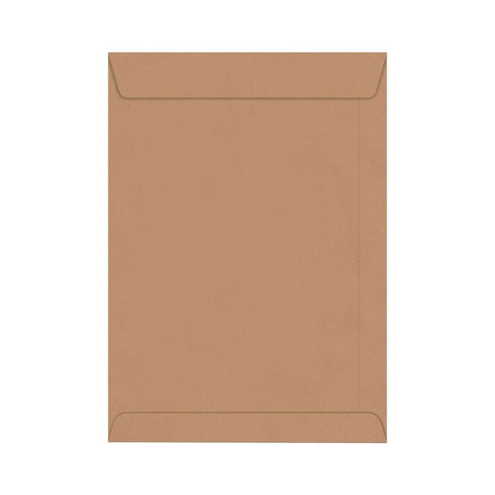 Envelope Saco Kraft Pardo SKN335 250x353mm Scrity 100un