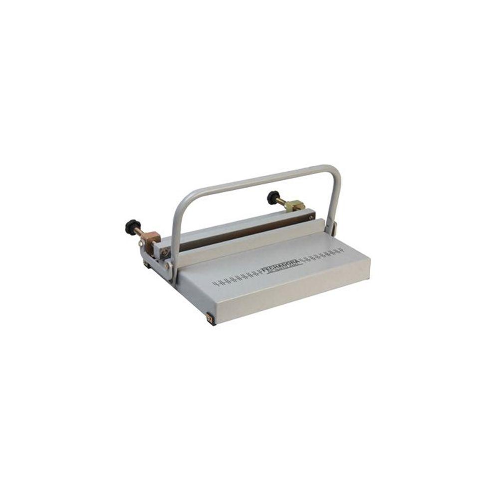 Fechadora de Wire-o Manual Universal Passo 2x1 e 3x1 350mm