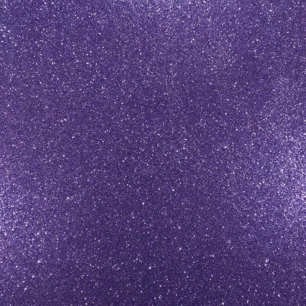 Folha de EVA Glitter Lilás 40x48mm 1,5mm pacote com 10 un