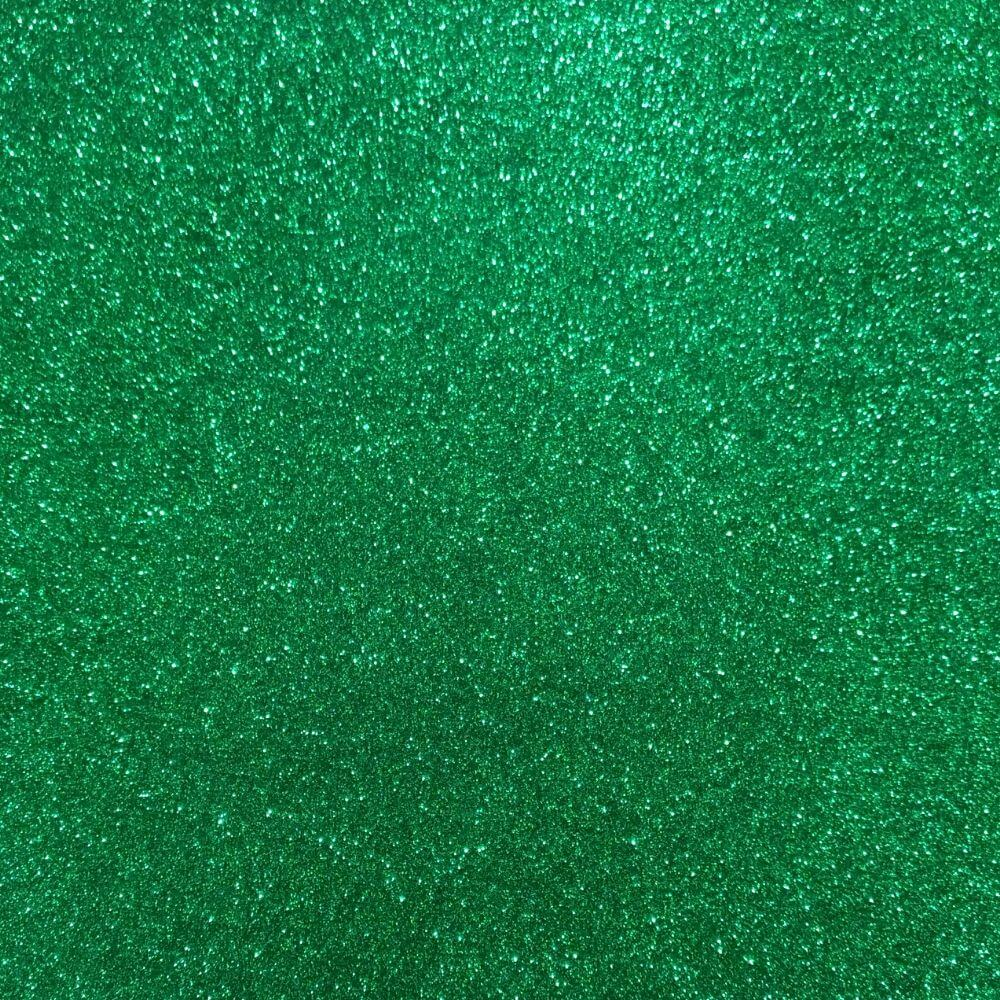 Folha de EVA Glitter Verde 40x48mm 1,5mm pacote com 10 un