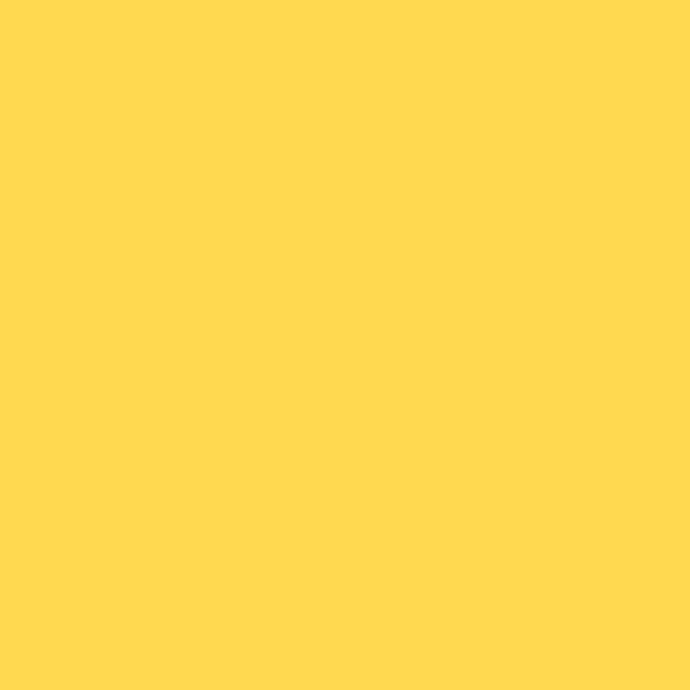 Folha de EVA Liso Amarelo 40x48cm 1,5mm pacote com 10un