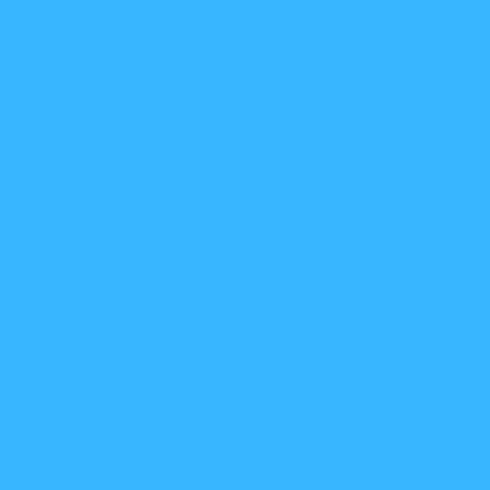 Folha de EVA Liso Azul 40x48cm 1,5mm pacote com 10un