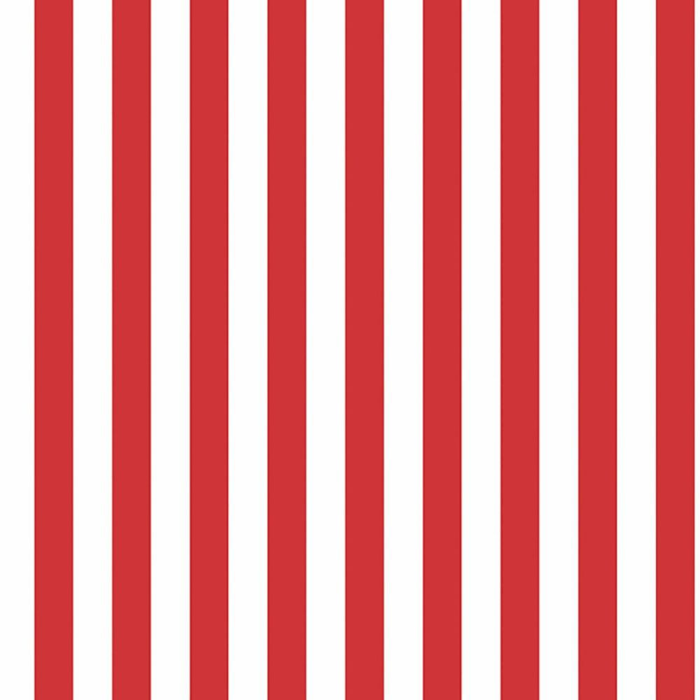 Folha de EVA Listrado Vermelho/Branco 40x48 1,5mm com 10un