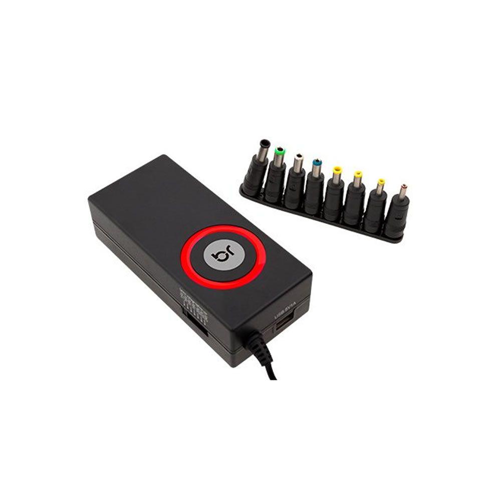 Fonte Carregador Universal com 8 Conectores Bivolt Bright 01un