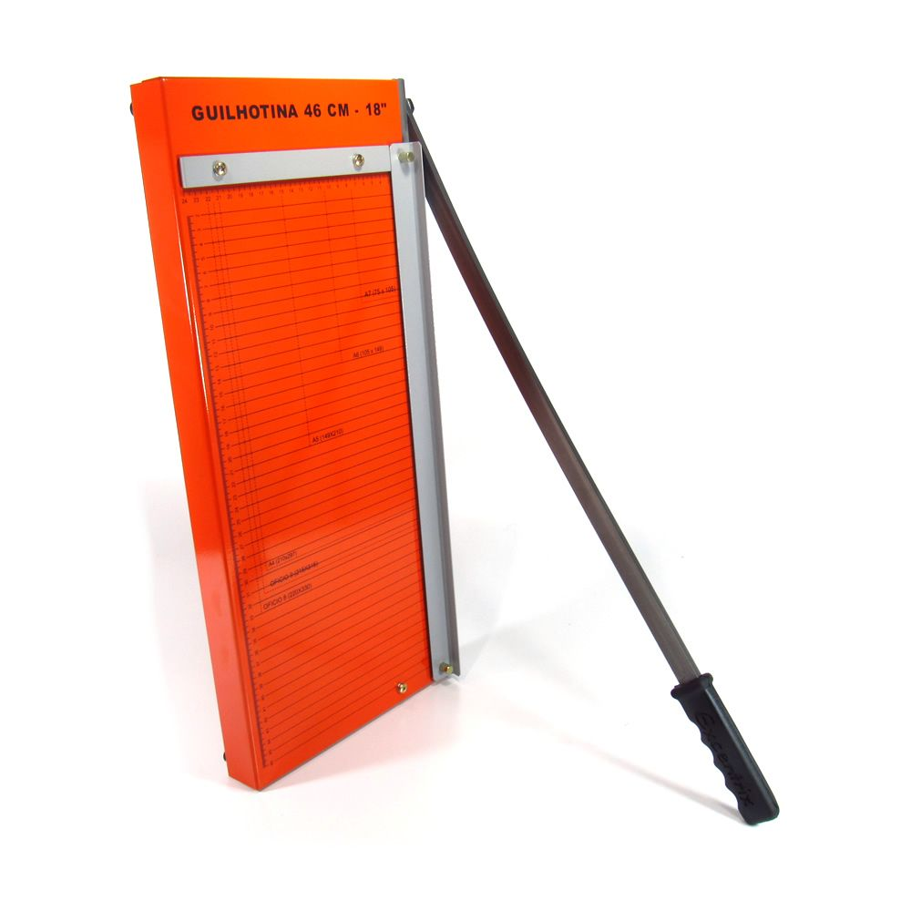 Guilhotina A3 para papel manual 46cm GEX-46 Standard 12 Fls