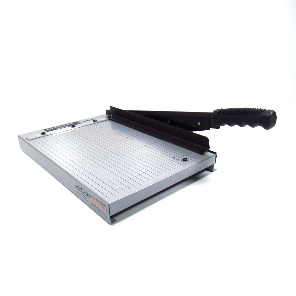 Guilhotina A4 para papel manual 30cm em aço Lassane 12 fls