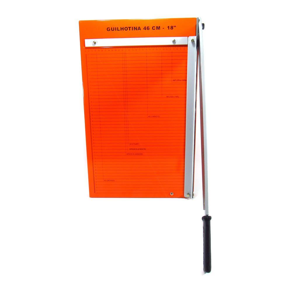 Guilhotina de papel manual A3 46cm GEX-46 Master 20 Folhas