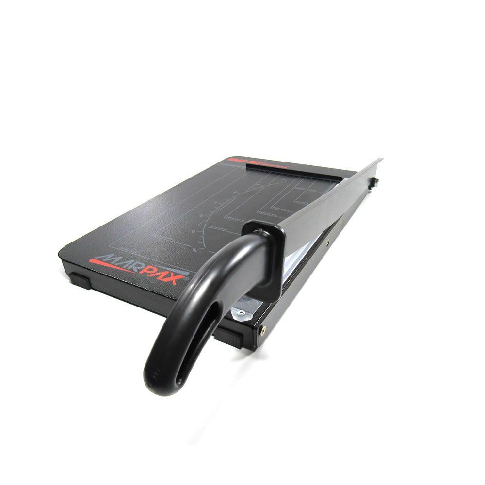 Guilhotina manual A4 33cm de corte 10fls GMX-30 Marpax 01un