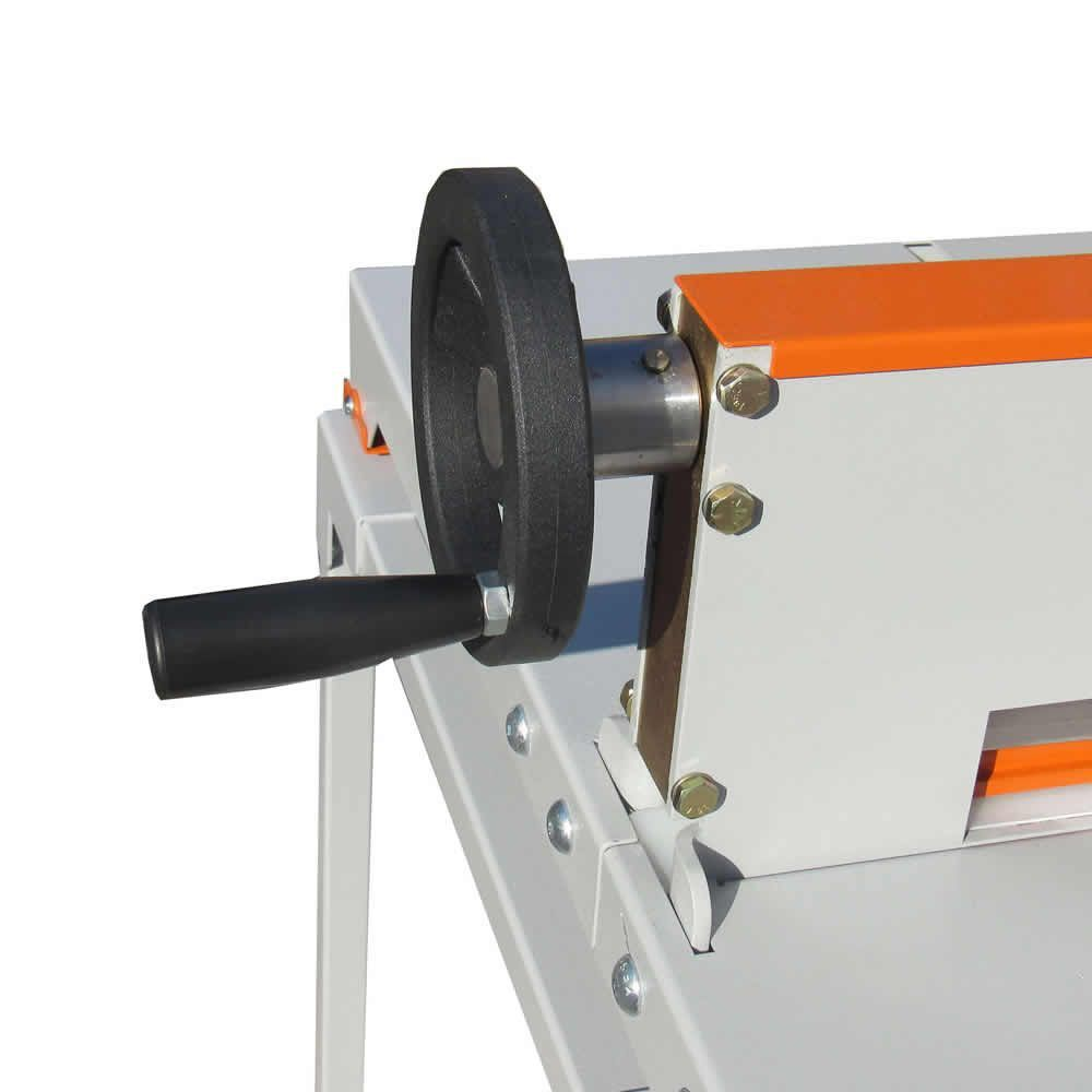 Guilhotina Semi Industrial 34cm 300fls GEX-340 c/mesa Marpax