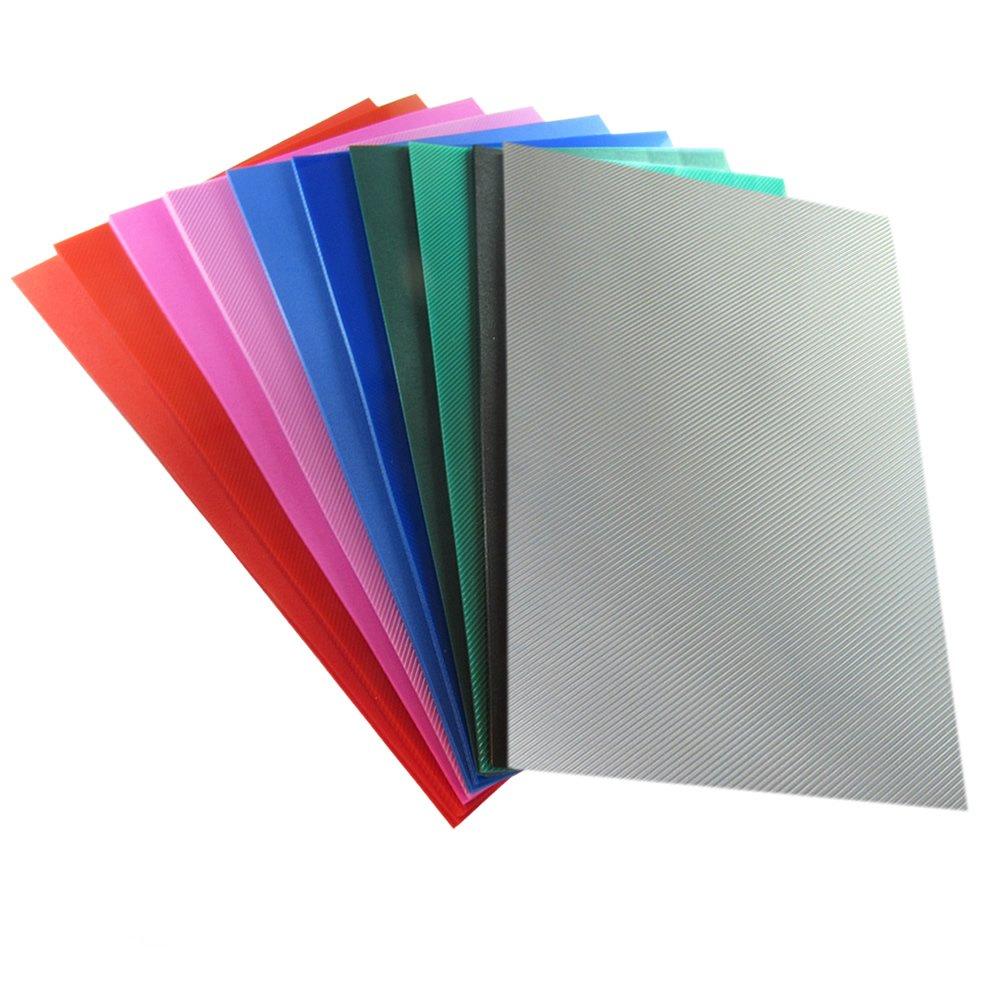 Kit Capa para Encadernação A4 PP 0,30 | Várias cores 100un