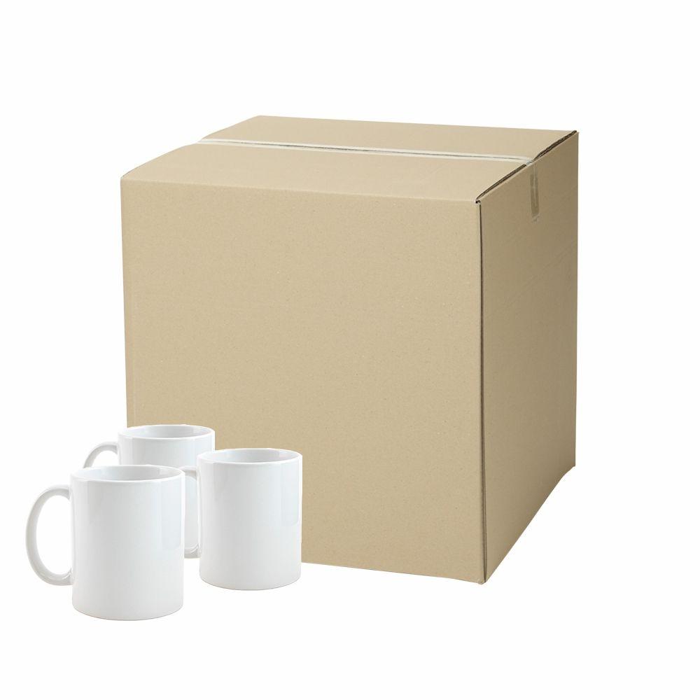Kit de Caneca para Sublimação cerâmica Classe A 325ml 36un
