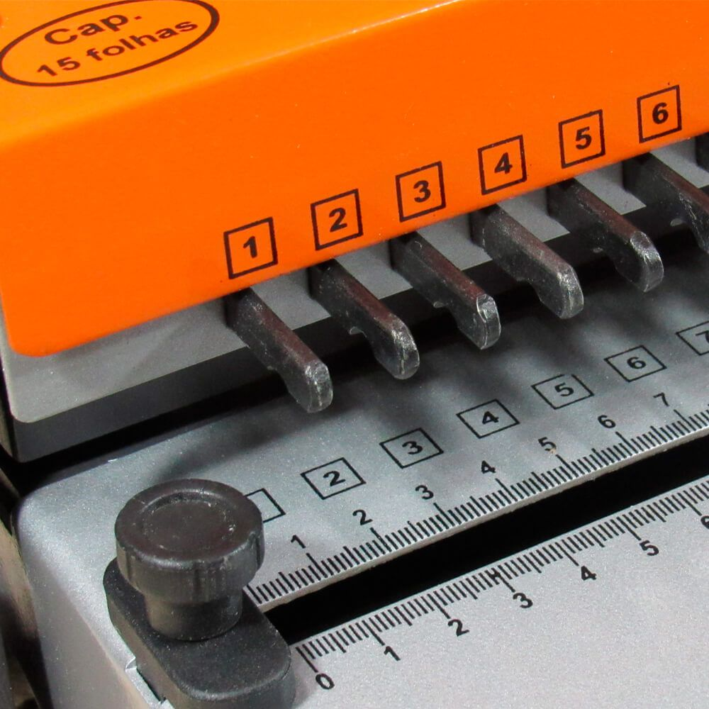 Kit Encadernação com wire-o passo 3x1 - Básico - 220v