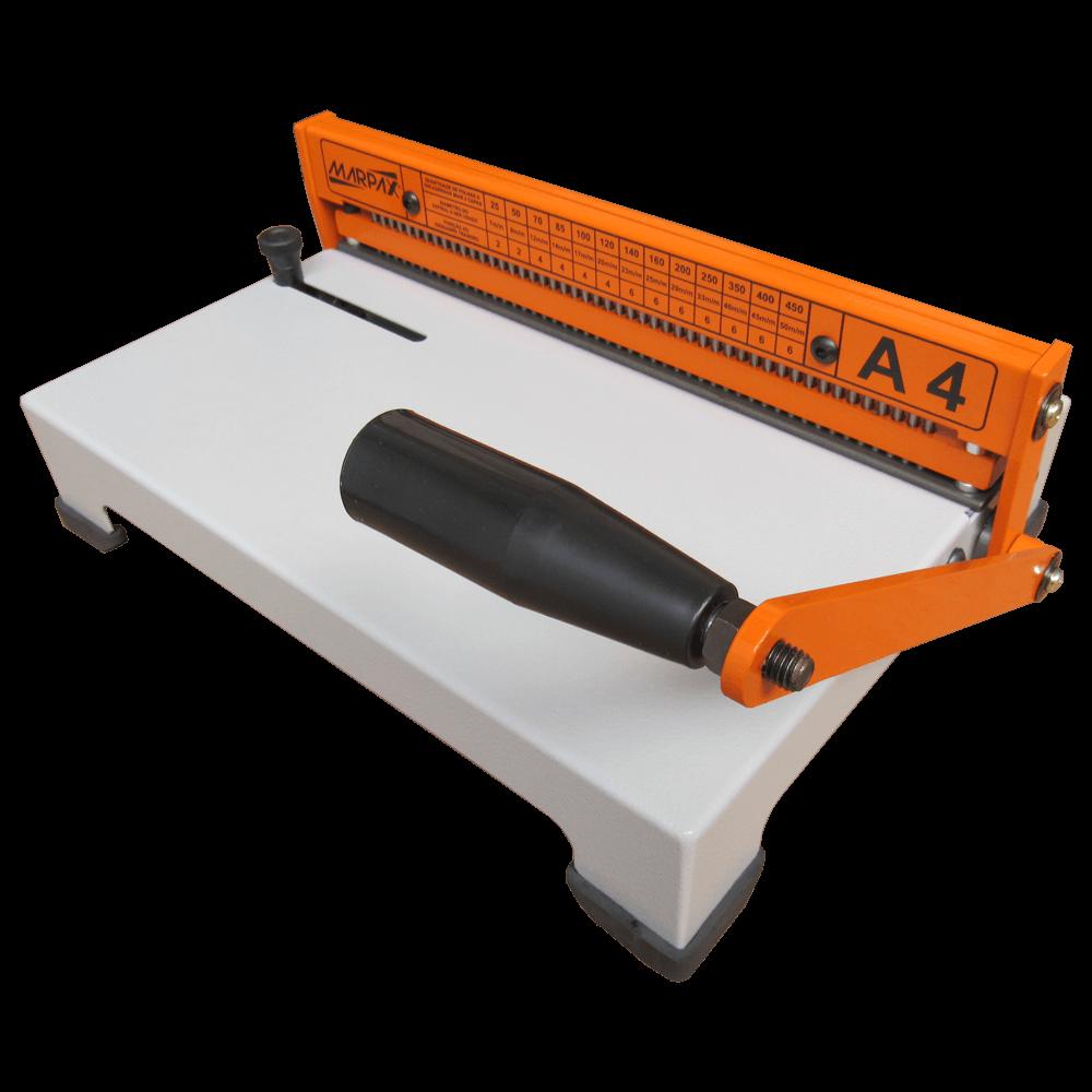Kit Encadernadora A4-X + Plastificadora Compact + Insumo 110