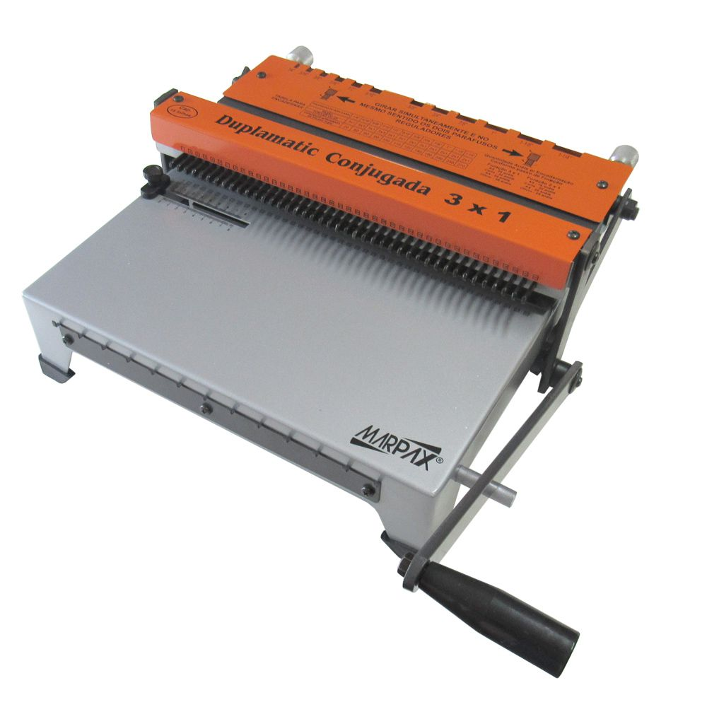 Kit Encadernadora de wire-o 3x1 + 100 Capas A4 + 100 Wire-o