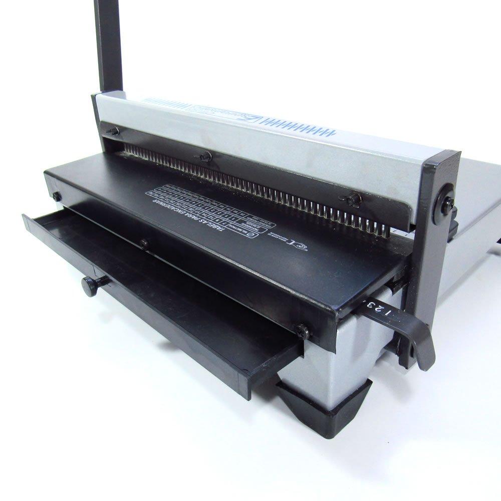 Kit Encadernadora Espiramatic + 100 Capas + 100 Espirais