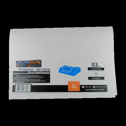 Kit Laminadora Aurora A3 + 02 BOPP A4 Brilho e Fosco 110V