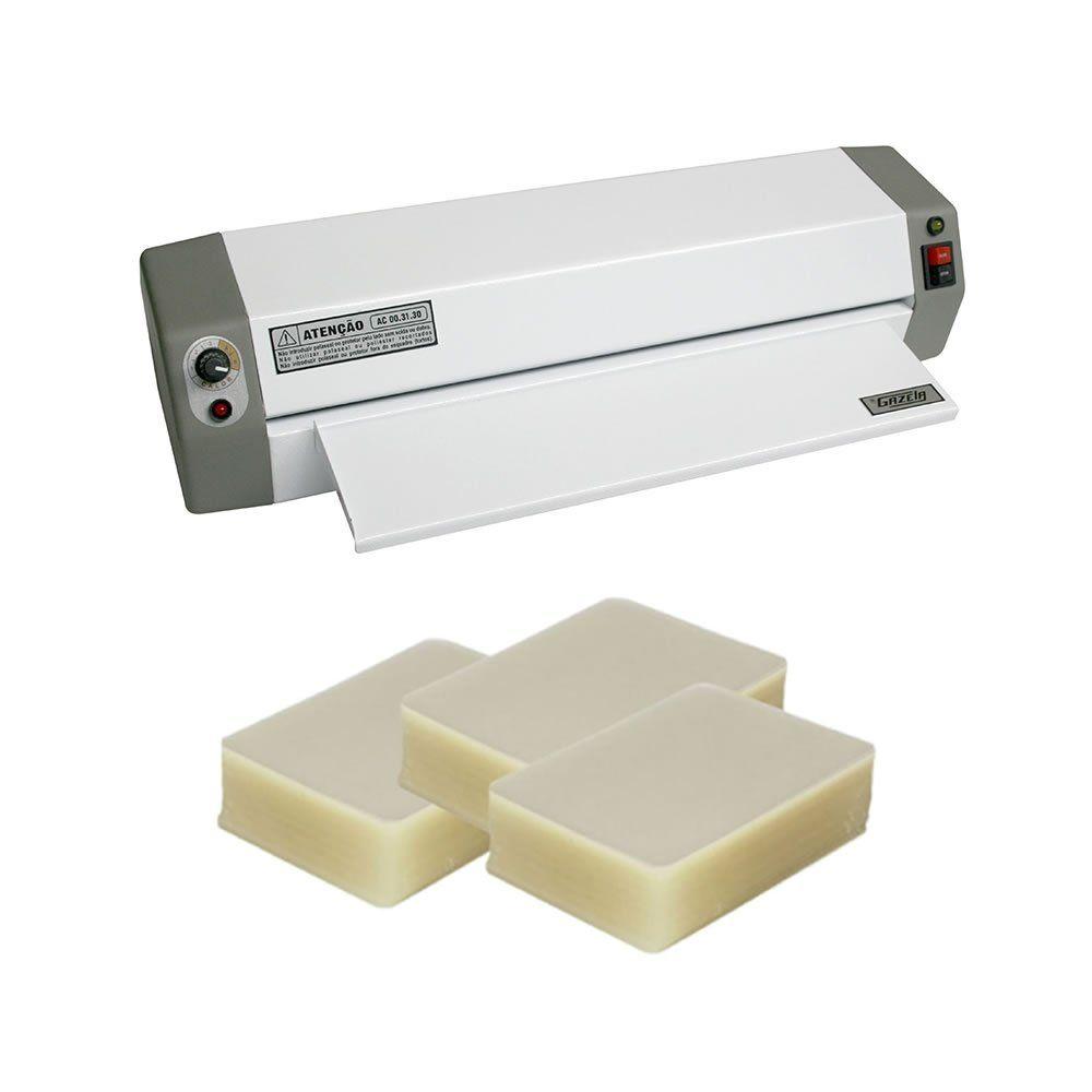 Kit Plastificação A3 Gazela AC 00.31.30 + 440 Polaseal