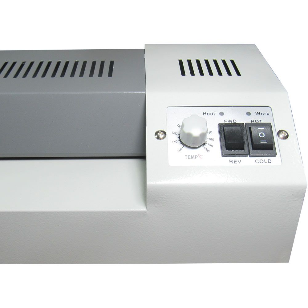 Kit Plastificação Plastificadora A3 HD320+ 360 Polaseal 110V