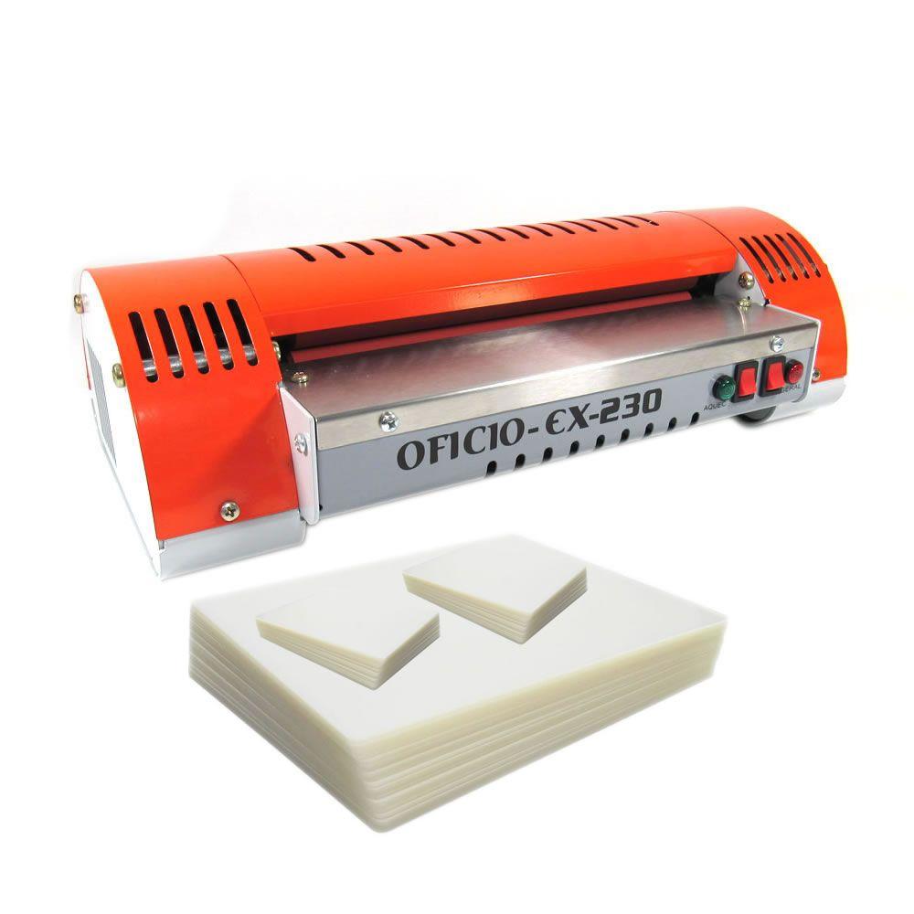 Kit Plastificação - Plastificadora Marpax + 340 Polaseal