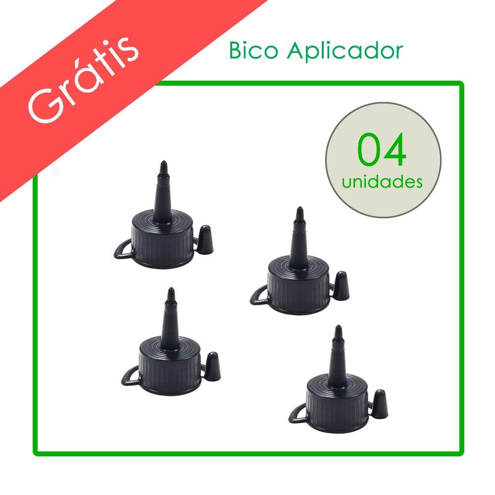 Kit Tinta HP Compatível Marpax BK 01 Litro e Coloridas 500ml
