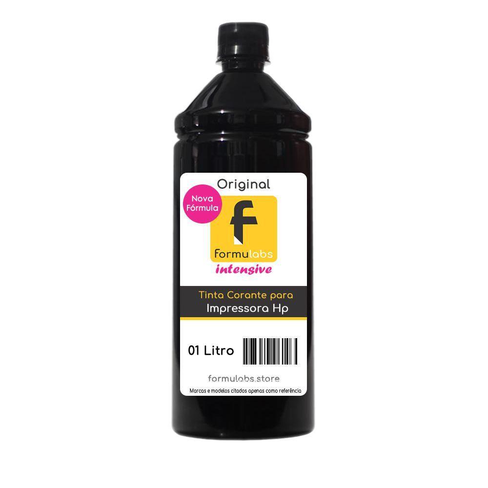 Kit Tinta para impressora HP Compatível Formulabs Black 10 Litros