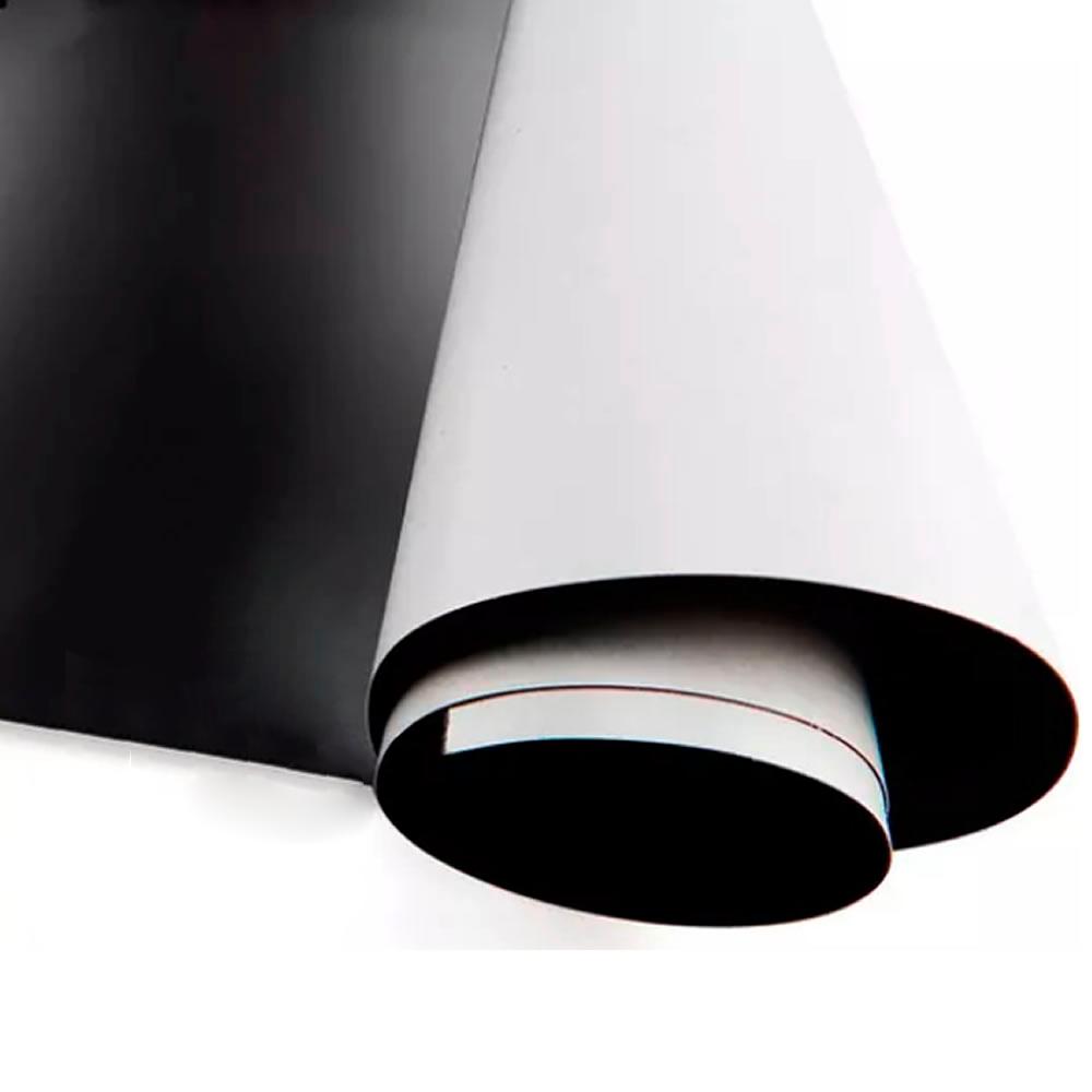 Manta Magnética Adesivado 01 metro x 0,62cm 0,3mm Marpax
