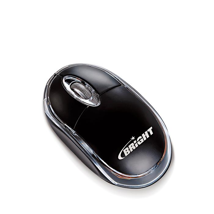 Mouse PS2 Óptico Preto 800 Dpi Espanha 0012 Bright 01un