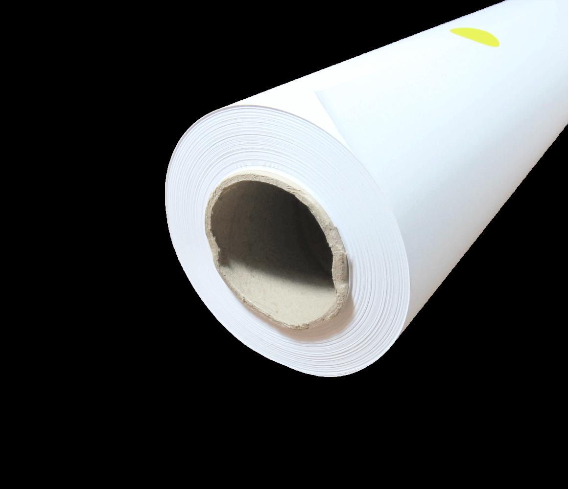 "Papel Sulfite para Plotter 75g Bobina 594mmx50m Tubo 2"""